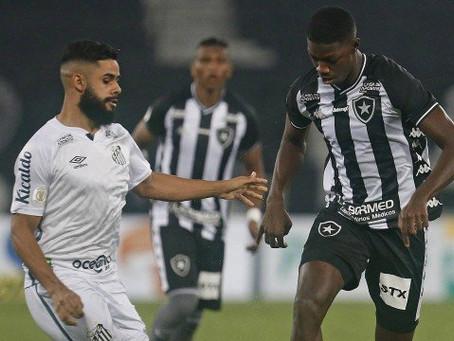 Botafogo empata com o Santos e mantém sequência sem vitórias no Brasileirão - ONDA CERTA FM