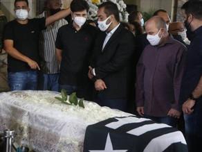 Ex-presidente da Alerj Jorge Picciani é sepultado em Sulacap após velório no Palácio Tiradentes