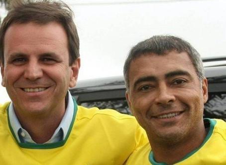 Romário contraria apoio do partido a Crivella no Rio e fará campanha para Paes - ONDA CERTA FM