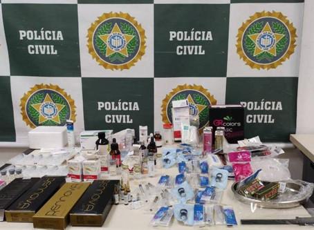 Polícia Civil fecha clínica de estética irregular e prende estagiária no Centro RJ - ONDA CERTA FM
