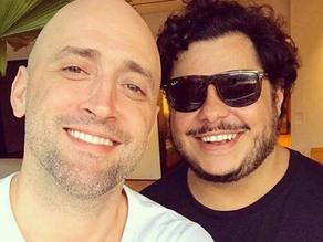 Marcus Majella faz homenagem emocionante a Paulo Gustavo: 'Serei um ótimo tio para eles'