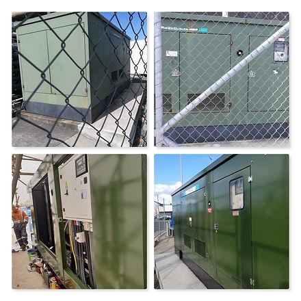 Juhi site diesel Generator