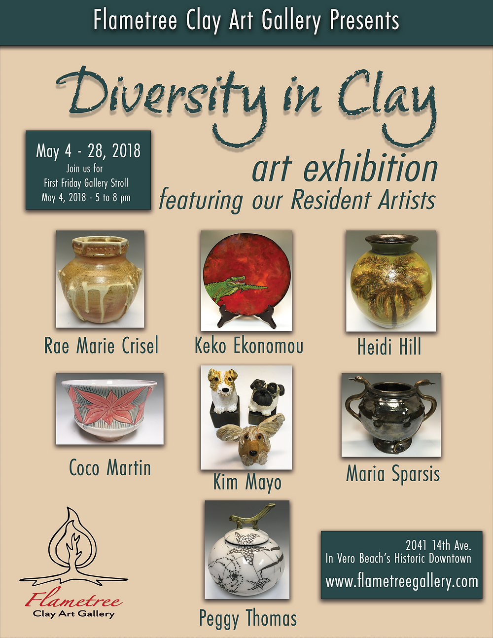 May 2018 Clay Art Exhibition