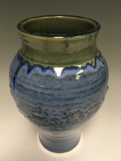 Blue and Green Vase