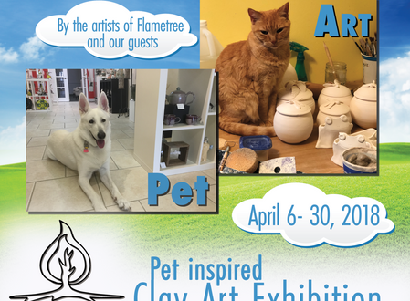 April 2018 Exhibit - For the Love of Pets