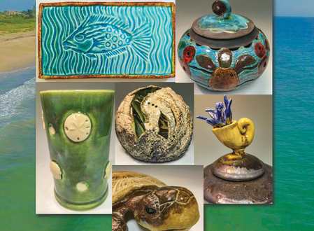 August 2018 - From the Sea - Clay Art Exhibition