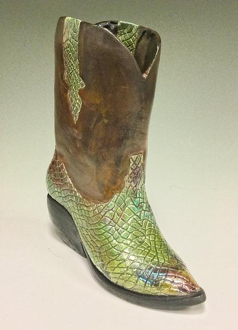 Heidi Hill - Cowboy Boot Gator