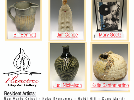 July 2020 - Our Exhibiting Artists