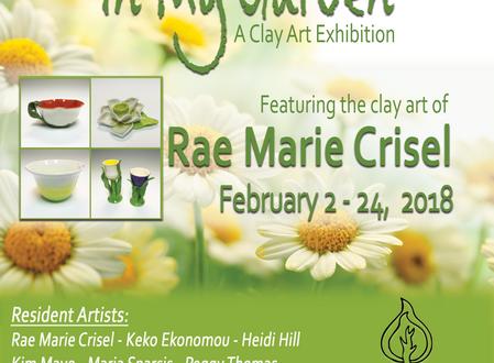 """""""In My Garden"""" A Clay Art Exhibition"""