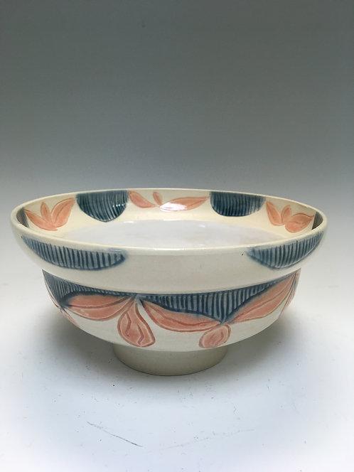Coco Martin - Flare Rim Carved Bowl