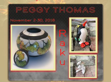 Out of the Fire - Clay Art Exhibition of Peggy Thomas