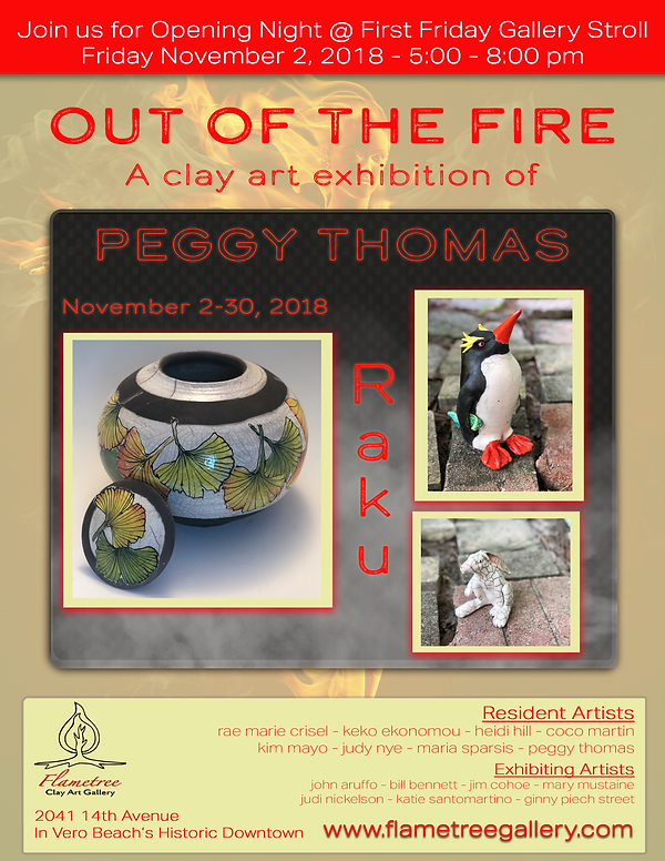 Out of the Fire - Peggy Thomas - Nov 201