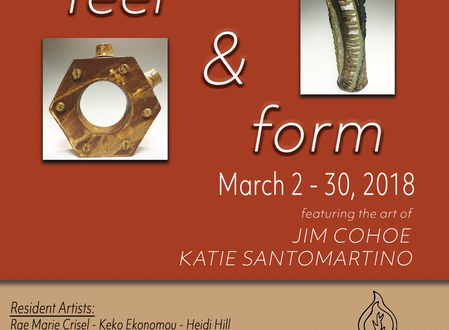 Feel & Form - A Clay Art Exhibition