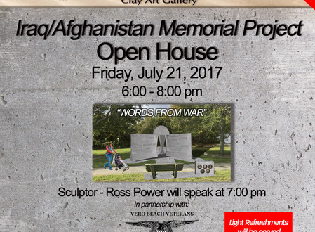 Join us for an Iraq/Afghanistan Veteran Memorial Open House
