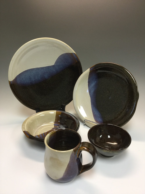 Rae Marieu0027s Hand Thrown Dinnerware Is Not Only Functional, It Also Adds A  Unique And Artful Presence To Any Dinner Table. She Has Several Dinner Sets  And ...