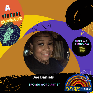 1 - Bee Daniels of Elevate speakers line