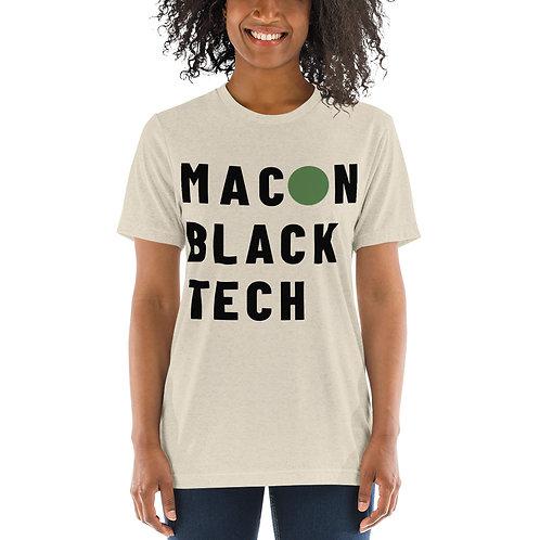 Macon Black tech Short sleeve t-shirt