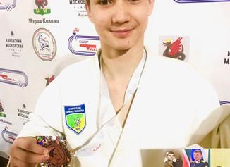 На всероссийских соревнованиях по дзюдо среди юнош.и девушек 2006-2007 года рождения в г. Казань
