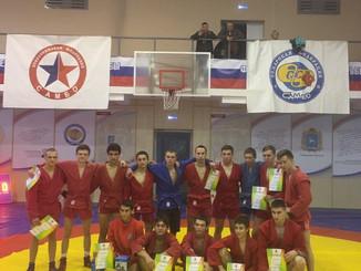 Чемпионат Самарской области по самбо среди мужчин и женщин