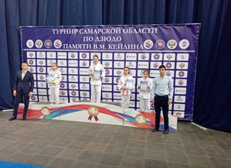 Победительница турнира Самарской области среди юношей и девушек до 13 лет (2007-2008 г.р.), памяти В