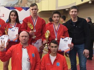 Отборочный этап 9 летней спартакиады учащихся России по самбо в г. Чебоксары: