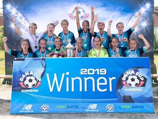 DanaCup 2019 Команда девочек СШОР - 11 стала чемпионом международного турнира, который 22-27 июля пр