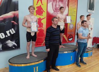 Поздравляем серебряного призера Всероссийских соревнований по Сумо  в городе Москве