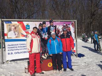 Лыжная гонка памяти Виктора Ольховского