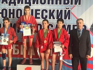 Спортсмены нашей спортивной школы выступили очень достойно, завоевав в общей сложности 5 наград, три