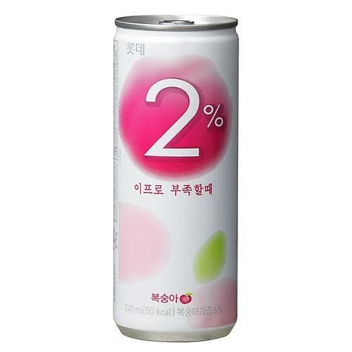 2% Peach Flavored Drink