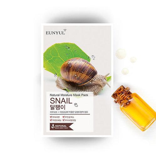 Snail Natural Moisture Face Mask