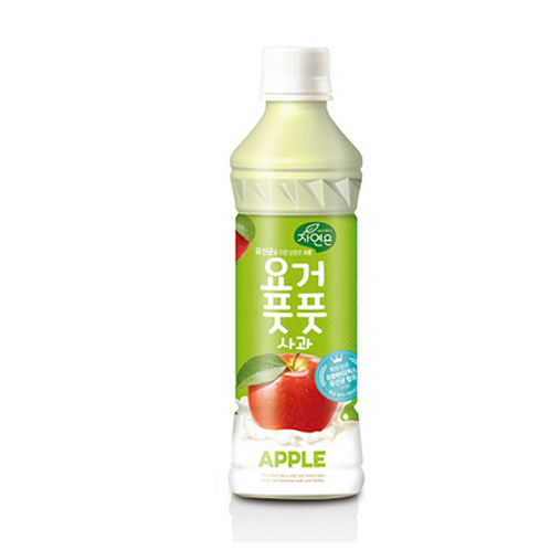 Apple Flavored Yogurt Drink