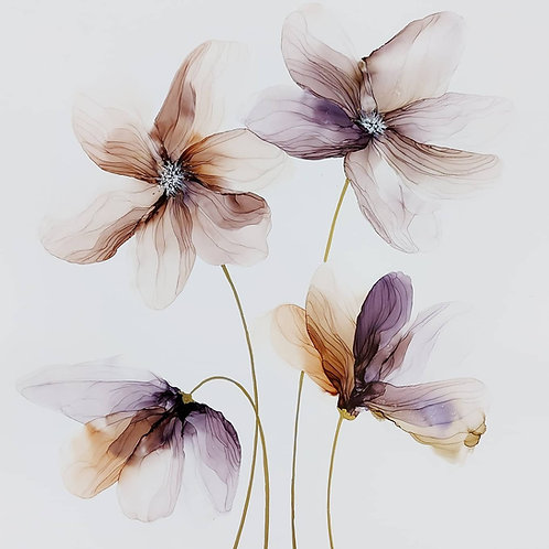 Delicate blooms