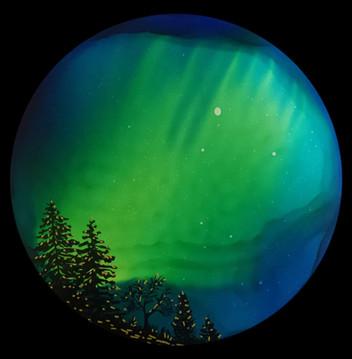 Northern lights round