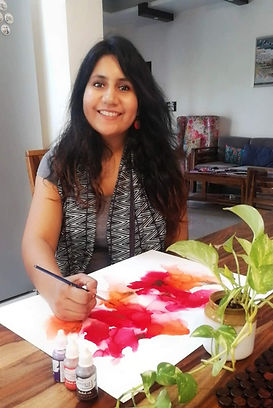 Top alcohol ink artist in India