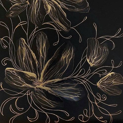 Black Gold Flowers