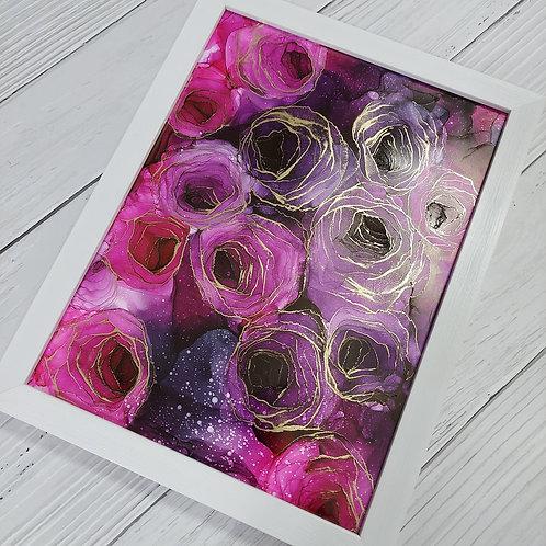 Black Pink Roses