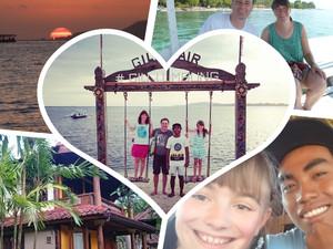 Sampai jumpa lagi! – Auf Wiedersehen, Hamburg! Wir wollen einen Monat auf der Insel Lombok leben ...