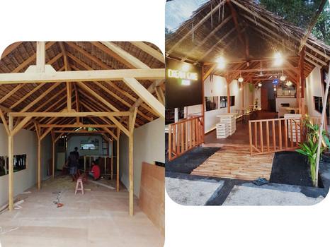 """""""Wir müssen wieder an die Zukunft denken! Das heißt für uns: ein eigenes Strand-Café auf Lombok"""""""