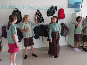 Mein erster Schultag an der Sekolah Nusa Alam auf Lombok