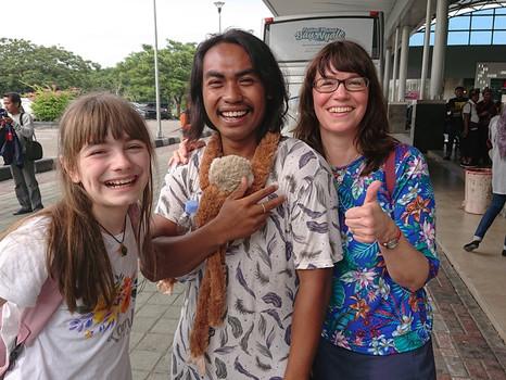 Was für ein Wiedersehen auf Lombok: Die Regenzeit ist voller Überraschungen