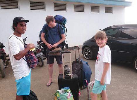 Abschied von Lombok - ungewollt aufregend