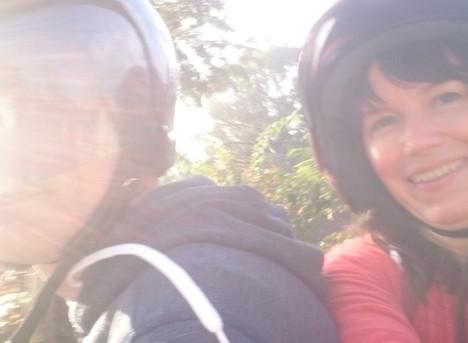Roller fahren in Indonesien: Fortbewegung mit Suchtpotenzial