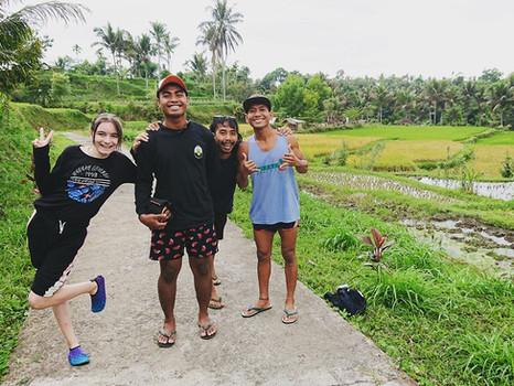 Tetebatu auf Lombok: abenteuerliche Pfade und versteckte Wasserfälle