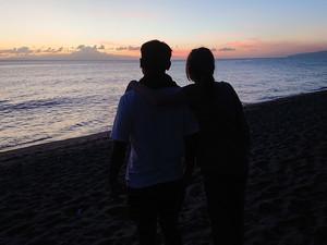 Nur wer Abschied nimmt, kann neue Räume betreten z. B. mal länger auf Lombok leben …