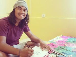 Überlebenskünstler in der Corona-Zeit auf Lombok