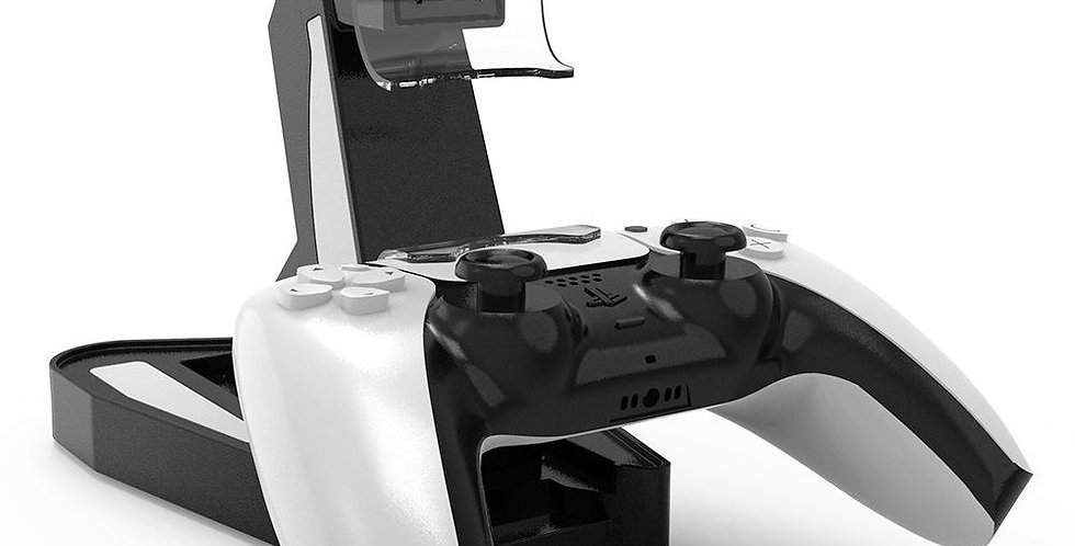 Upright PS5 Controller Charging Station