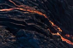 Lava meets the ocean Hawaii Copyright Denesa Chan-23 copy