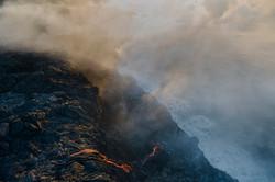 Lava meets the ocean Hawaii Copyright Denesa Chan-18 copy