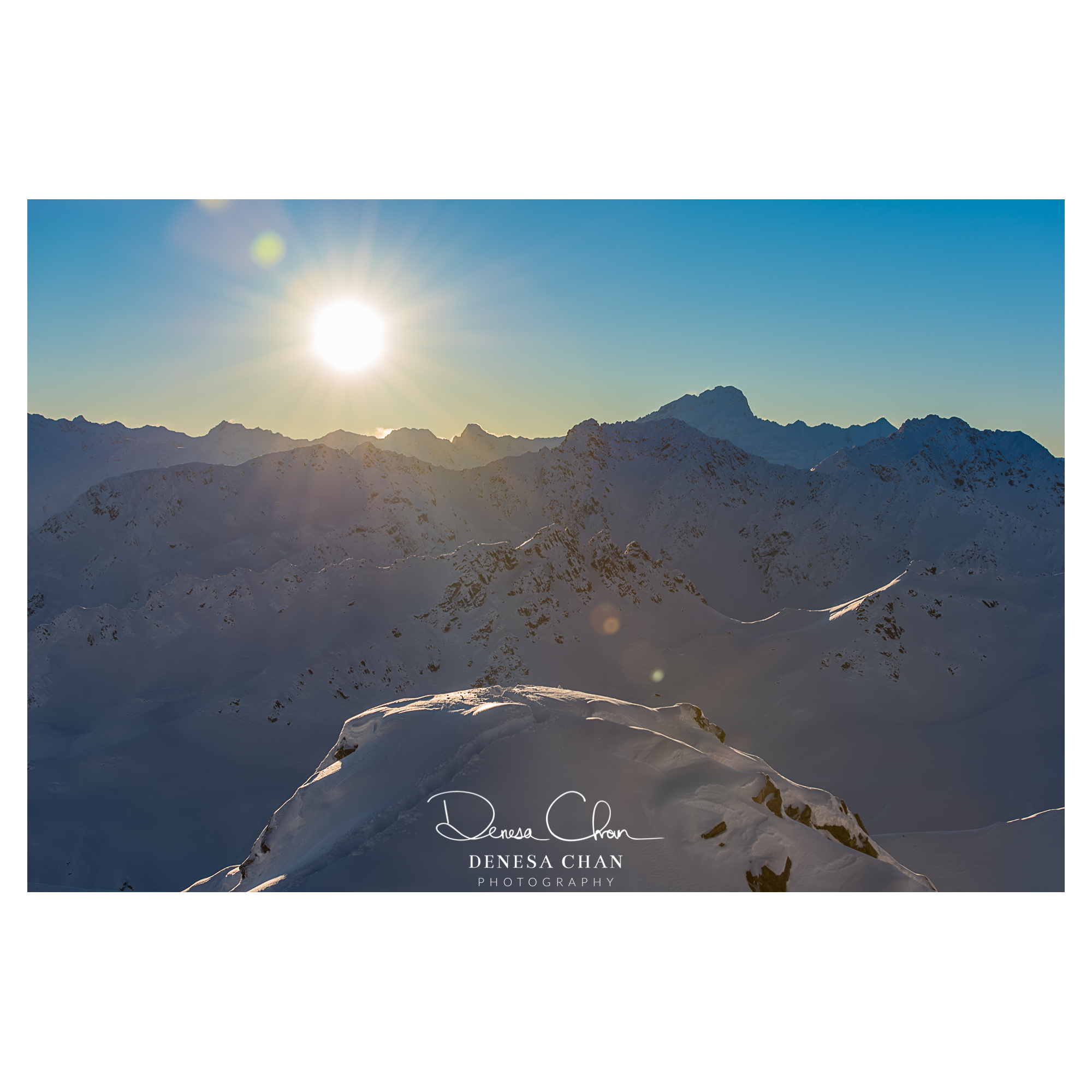 Gammak_Range_Snow_Sun_South_Island_New_Zealand_©_Denesa_Chan_Photography_9295